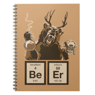 Chemistry bear discovered beer note books