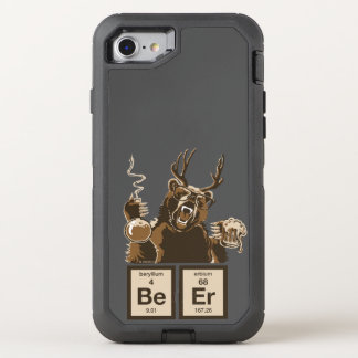 Chemistry bear discovered beer OtterBox defender iPhone 7 case