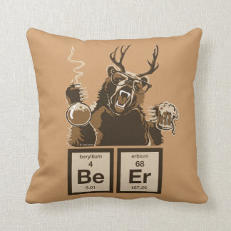 Chemistry bear discovered beer pillow