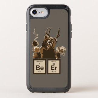 Chemistry bear discovered beer speck iPhone case