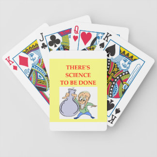 chemistry bicycle playing cards