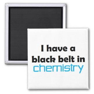 Chemistry black belt magnet
