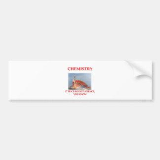 chemistry bumper stickers