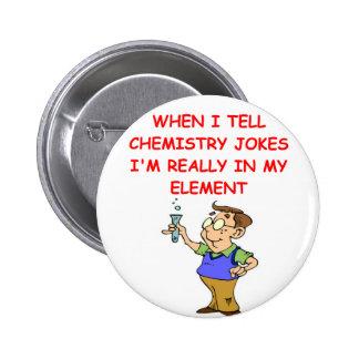 chemistry pinback buttons