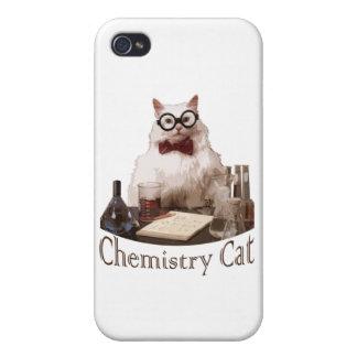Chemistry Cat (from 9gag memes reddit) iPhone 4 Cover