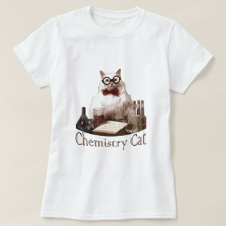 Chemistry Cat (from 9gag memes reddit) Tshirts