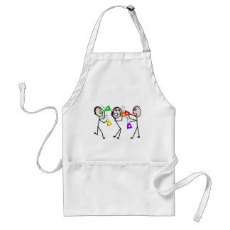 Chemistry/Chemists Stick People Gifts Aprons