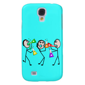 Chemistry/Chemists Stick People Gifts Galaxy S4 Cover