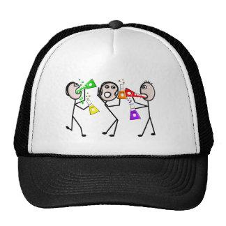 Chemistry/Chemists Stick People Gifts Hat