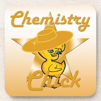 Chemistry Chick #10 Beverage Coaster