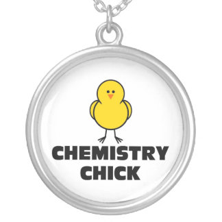 Chemistry Chick Silver Plated Necklace