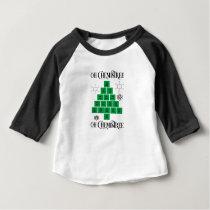 Chemistry Christmas Tree Baby T-Shirt