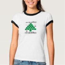 Chemistry Christmas Tree T-Shirt