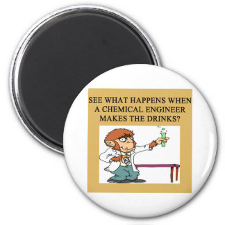 chemistry concoction joke 2 inch round magnet
