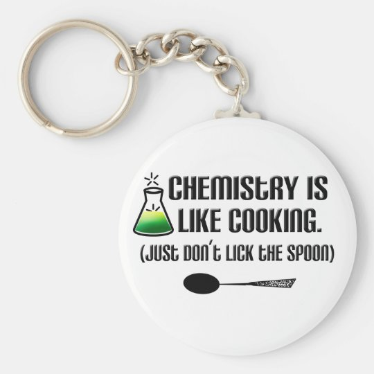 Chemistry Cooking Keychain