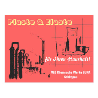 Chemistry Design GDR Postcard