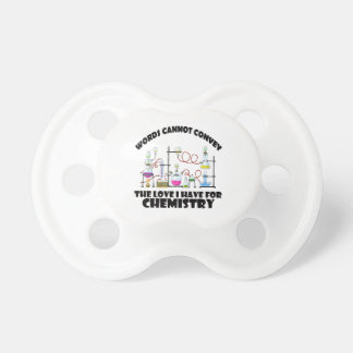 Chemistry designs pacifier