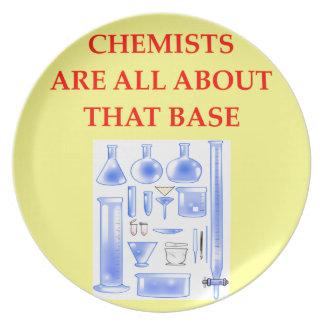 CHEMISTRY DINNER PLATES