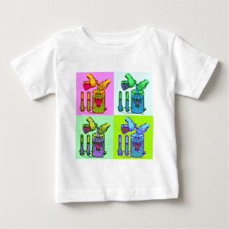 Chemistry Displacement Pop Art Baby T-Shirt