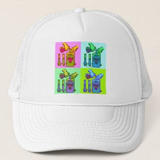 Chemistry Displacement Pop Art Trucker Hat