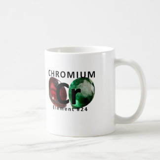 Chemistry Element Cr Coffee Mug – Chromium