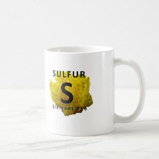 Chemistry Element S Coffee Mug – Sulfur