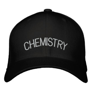Chemistry Embroidered Hat