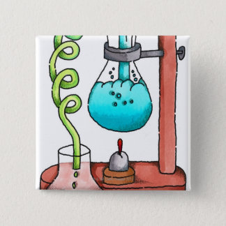 Chemistry Experiment Pinback Button
