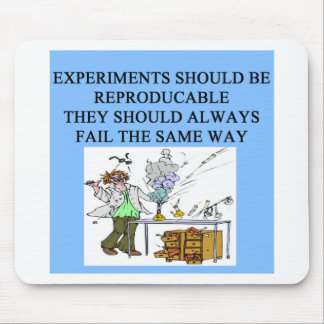 chemistry experiments mouse pad
