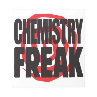 Chemistry Freak Scratch Pads