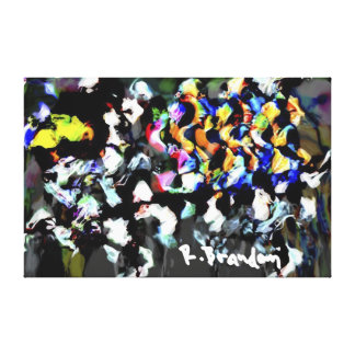 """""""Chemistry"""" Gallery Wrapped Canvas Painting Print"""
