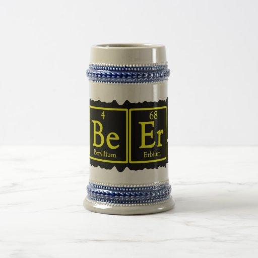 Chemistry Geek Beer Stein