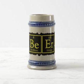 Chemistry Geek Beer Stein 18 Oz Beer Stein