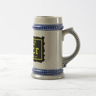 Chemistry Geek Beer Stein Coffee Mugs
