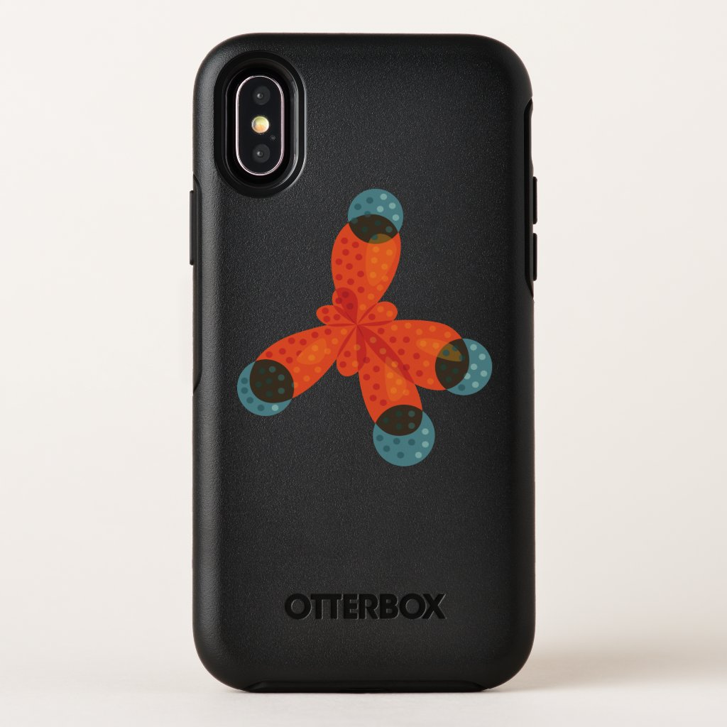 Chemistry Geek Orange Methane Molecule