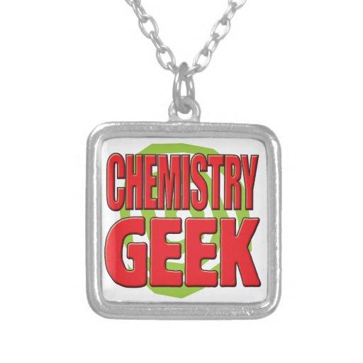 Chemistry Geek Personalised Necklace