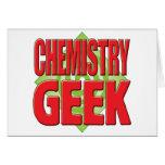 Chemistry Geek v2 Greeting Cards
