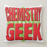 Chemistry Geek v2 Pillows