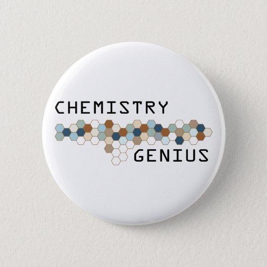 Chemistry Genius Pinback Button