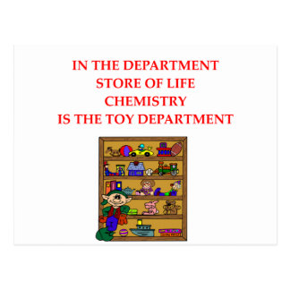 CHEMISTRY gifts Post Cards