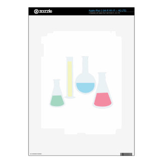 Chemistry Glassware Decal For iPad 3