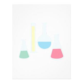 Chemistry Glassware Letterhead