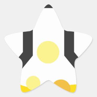 Chemistry Glassware Star Sticker