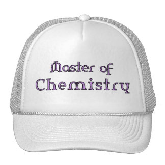 Chemistry Mesh Hat