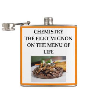 CHEMISTRY HIP FLASK