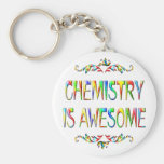 Chemistry is Awesome Keychain