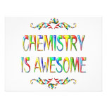 Chemistry is Awesome Personalized Announcement