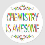 Chemistry is Awesome Stickers