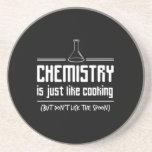Chemistry Is Cooking Beverage Coasters