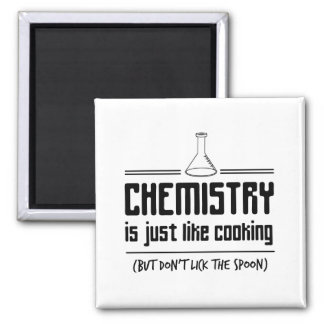 Chemistry Is Cooking Magnet